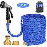 Best Coiled Garden Hoses - BALABA Expanding Garden Water Hose Pipe 100FT / Review