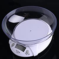 WH-B09 Electronic Kitchen Scale With Bowl Battery Operated