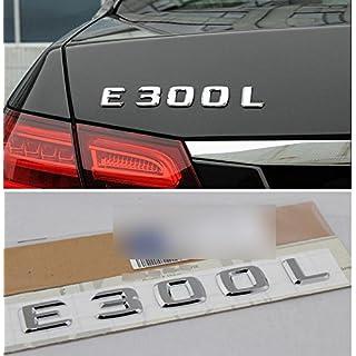 E684 E300 E300L Emblem Badge auto aufkleber 3D Schriftzug hinten Abziehbild Car Sticker Plakette