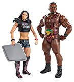 WWE Series #28 Big E Langston and AJ Lee Figure with Cookie Sheet (2-Pack) by Mattel [並行輸入品]