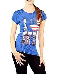 S&LU angesagtes Damen-Shirt mit tollem New York-Print Größe S/ M (34), M/L (36- 38)