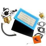 HURI Vergaser mit Luftfilter für Honda GXV120 GXV140 GXV160 Motor HR194 HR214 HRA214 HR215 HR216 Benzin Motor Ersatz 16100-ZE6-W01, 17211-ZG9-M00