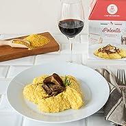 POLENTA CON CREMA AI FUNGHI PORCINI My Cooking Box x3 Porzioni - Per una serata tra amici, una cena romantica