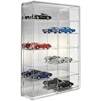 SORA 1/24 Model Car Display Case with mirrored back-panel