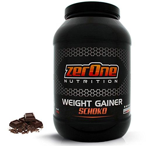 Weight-Gainer Hafer-Gerste Choco Hochdosiertes Pulver | Hochwertige Kohlenhydrate Masseaufbau | In Deutscher Premium Qualität | Vegan | Geschmack Schoko 1500g
