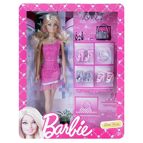 barbie-glam-shoes-doll-giftset