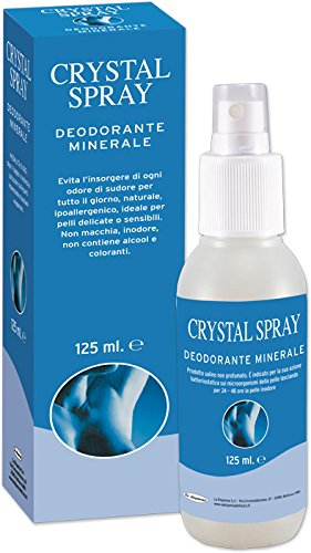 Deodorante minerale allume crystal spray 125ml