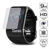 Guran® Pellicola Protettiva in Vetro Temperato per Garmin Vivoactive HR Smartwatch Hartglas Schutzfolie Film