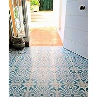 Zazous Havana Day - Azulejos de vinilo autoadhesivos para suelos de vinilo.