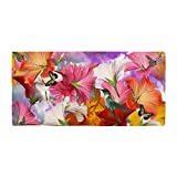 Best CafePress Bath Towels - CafePress - Hibiscus Butterflies - Large Beach Towel Review