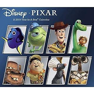 2019 Disney Pixar 2019 Desk Calendar, Animated Movies by ACCO Brands