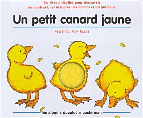Un petit canard jaune (Livre animé)