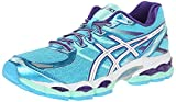 Asics Women's Gel-Evate 3 Running Shoe,Turquoise/White/Purple,6.5 M US
