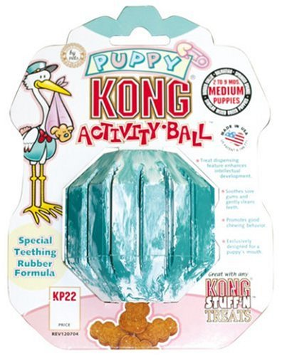 Kong-Puppy-Kong-Activity-Ball-Small-colors-may-vary