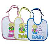 Littly Baby Bunny Bibs Combo, Pack of 3 ...