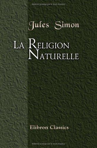 La religion naturelle par Jules Simon