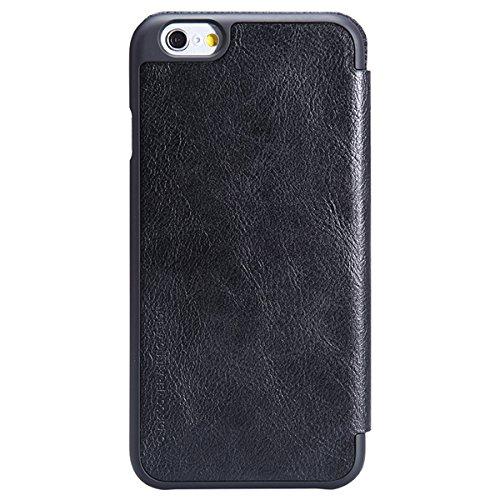 NILLKIN Marque SŽrie Qin Flip Case en cuir pour iPhone 6 Plus 5.5inch noir