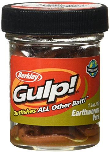 Berkley Gulp Appâts vers de terre Lot de 2 Marron Twin...