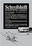 Der Flug des Aerophils: Eine andere Moderne zwischen Orwell und Pynchon (Schreibheft, Zeitschrift für Literatur, 61) - Gerd Schäfer