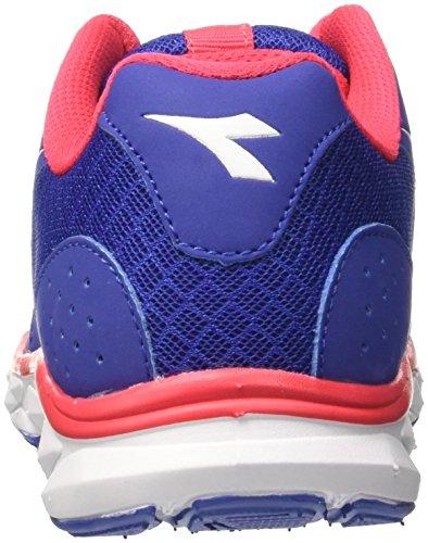 Diadora Hawk 7 W, Scarpe da Corsa Donna Blu (Blu Oltremare/Bianco Ottico)
