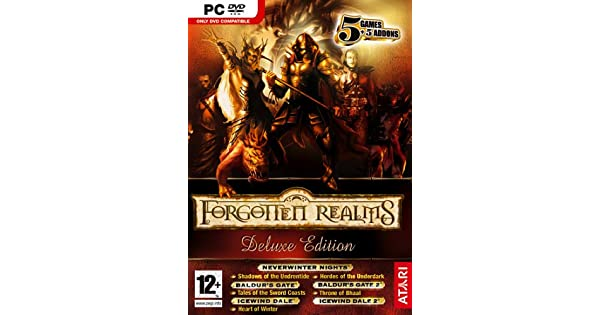 Forgotten Realms Deluxe Edition Pc Dvd Forgotten Realms