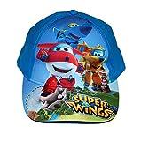 Super Wings Jungen Cap Kappe Schirmmütze