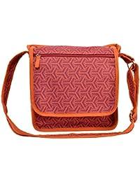 Rhombus Odean Women's Cross Messenger Bag Orange