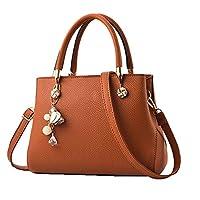محافظ وحقائب للنساء أزياء السيدات بو الجلود الأعلى مقبض حقيبة الكتف حقائب حمل