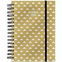 Agenda Espiral FINOCAM You 2018 E10 1D/P (Gold)
