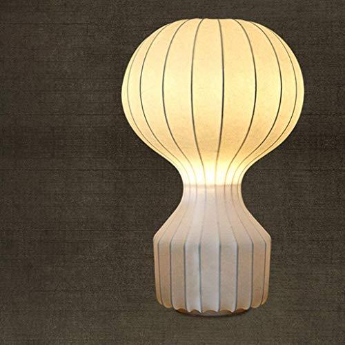 CLLCR Haushalts-Tischlampe, Nachttischlampe, Persönlichkeit Einfache Heißluft-Ballon-Lampe Wohnzimmer-Studie Schlafzimmer Nachttischlampe Kreative Retro-Lesung Nachtlicht, Augenschutz-Tischlampe