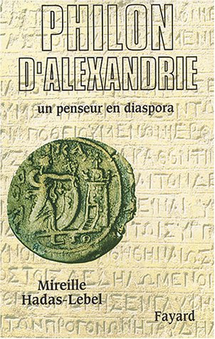 Book's Cover of Philon dAlexandrie Un penseur en diaspora