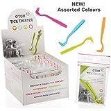 O'Tom Tick Twister- Gancho para quitar garrapatas en mascotas o humanos
