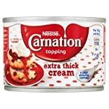 Nestlé Carnation Topping Extra Thick Cream 170g Case of 12