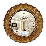 Mirror Kang Dekorative Spiegel Europäischen Und Amerikanischen Stil Runde  Sonne Kamin Restaurant Veranda Hängenden Spiegel Wasserdicht