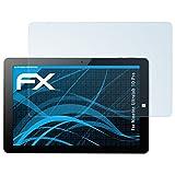 atFolix Schutzfolie kompatibel mit Ninetec Ultratab 10 Pro Folie, ultraklare FX Displayschutzfolie (2X)