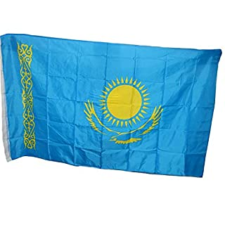 Naicasy 90* 150cm Kasachstan Flagge 1Pack