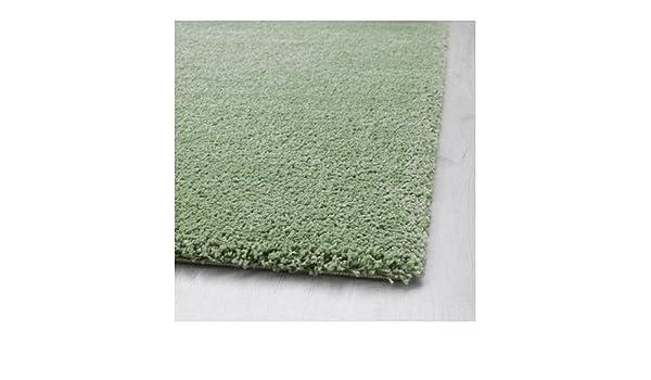 Ikea Adum Langflor Teppich In Hellgrün 170x240cm Amazon