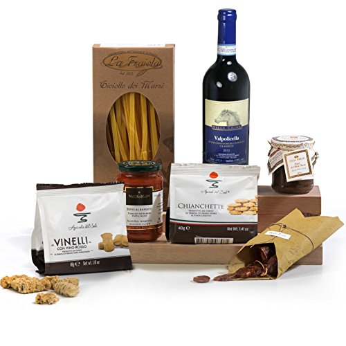 Hay Hampers Mamma Mia Italian Food and Wine Gift Hamper Box