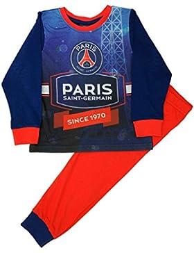 Paris Saint Germain FC -  Pigiama due pezzi  - Maniche lunghe  - ragazzo