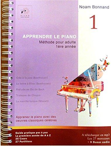 APPRENDRE LE PIANO Méthode pour adulte 1ère année