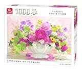 King kng05377Classic Sprache der Blumen Puzzle (1000Teile)