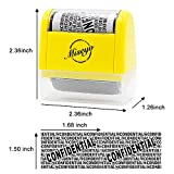 Are you in trouble with those junk mails? Do you want to recycle magazines and envelopes but have to put them in shredder machine? Now say good bye to shredder machine and use Miseyo Stamp for recollection of paper.    Miseyo Wide Roller Stamp is ...