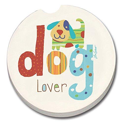 Dog Lover - Single Car Coaster by Counter Art by Creative Ventures - Car Coaster