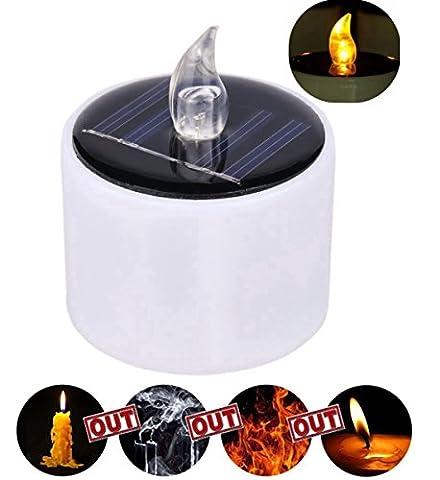 6pcs LED Teelicht, AIKEN- M Kerze Lichter Romentic Bernstein Gelbe