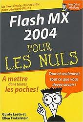 Flash MX 2004, poche pour les Nuls