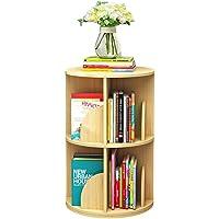 Bibliothèques Tournante, Rotative Créative À 360 ° Étagères À Démontage Simple Étagère d'angle Simple pour Étudiant pour…