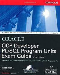 OCP Developer PL/SQL Program Units Exam Guide (Oracle Press (Certification).)