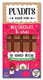 Pundits - Milk Chocolate & Chai Bar - with Natural Stevia...