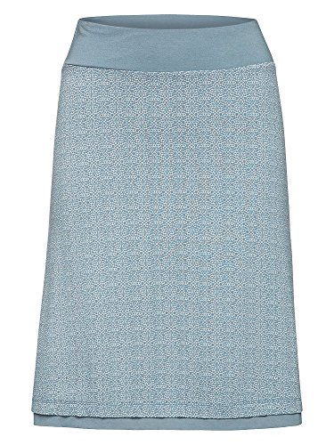 TOM TAILOR Damen A-Linien Rock taubenblau M