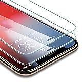 esr Verre Trempé pour iPhone XS/X (2 Pièces), [Taille Réduite conçue pour Les Coques], [Gabarit de Pose Inclu], Film Protection Écran Ultra Résistant, Dureté de 9H